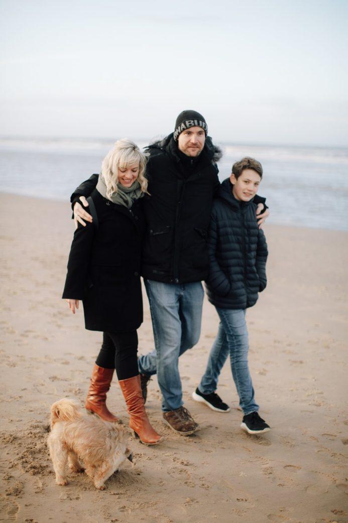 Familie fotoshoot Bloemendaal